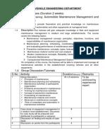 Automobile maintenance management and techniques.docx