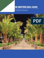 Programa Gestión Partido Popular Humanes de Madrid 2011-2019