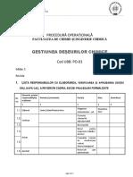 Procedura FCIC Deseuri