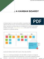 What is a Kanban Board - LeanKit