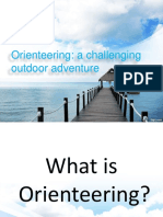 Orienteering Ppt