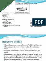 A Study on Jindal Aluminium Ltd