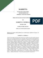 Marietta - Daniel Suárez Artazu - ESPIRITISMO