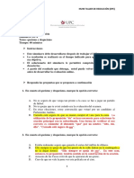 HU98Taller de Redaccion Simulacro Queismo Dequeismo SolucionarioREV Henry