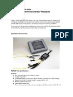 PDA Test Methods