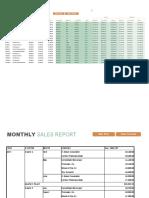 Monthly sales report.xlsx