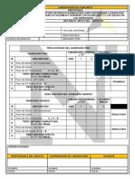 Ficha tecnica de laboratorio- Peso Unitario y Vacío de Los Agregados