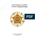 Analysing E-Commerce Tax Policy Based on AICPA Guiding Principles (GROUP 8).docx
