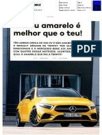 "RENAULT MÉGANE R.S. TROPHY FRENTE AO MERCEDES-BENZ A35AMG NA ""AUTO DRIVE"""