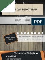 Powerpoint Terapi Dan Psikoterapi Psikologi Umum II