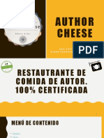 Author Cheese Presentación