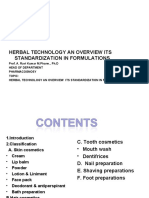 Herbal Technolgy