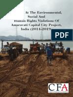 Looking At The Environmental, Social And Human Rights Violations Of Amaravati Capital City Project, India (2014-2019)