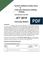 Jet Bulletin 2019