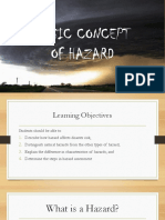 Basic Concept of Hazard