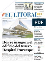 El Litoral Mañana 14/05/2019