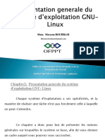 2 Presentation Generale Du Systeme Linux (Chap 2)