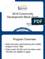 2018 CDBG Application Workshop 4-2017 Research