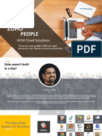 Zoho People Presentation