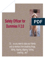 Safety Officer for Dummies Version 2a