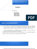 Advanced Technology Stacks and Business use-cases