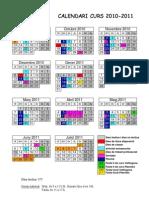 Calendari 2010-11