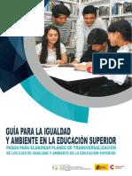 Senescyt-AECID (2017). Marco conceptual. Guía para la transversalización de la igualdad en la educación superior