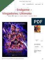 Avengers_ Endgame - Vingadores_ Ultimato