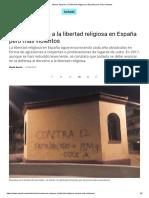 Ataques a la libertad religiosa