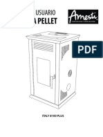 Manual Estufa Pellet Amesti Italy 8100 Plus-29012019