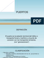 caracteristicas basicas de los puertos