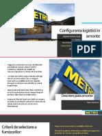 Analiza Sistemului Logistic La Compania METRO Romania