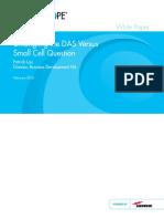 DAS vs Small Cells Question