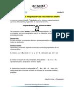 UnADM - Matematicas - Calculo Diferencial - Actividades Unidad 1