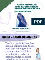 3 Tanda Tanda Kehamilan DLL