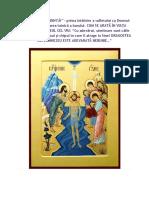 DRAGOSTEA CEA DINTÂI – prima întâlnire a sufletului cu Domnul Său, prin cercetarea tainică a harului (Arhim. Zaharia Zaharou).docx