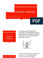 Structura productiv-comerciala