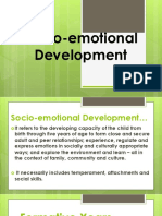 Socio Emotional Development KIM