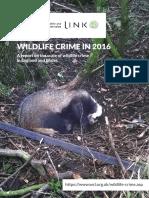 Link Annual Wildlife Crime Report April 18