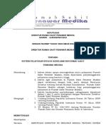 Sk Sistem Pelaporan Budaya Keselamatan Rumah Sakit
