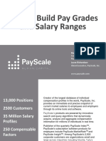 2013 How to Build Pay Grades and Salary Ranges 1