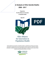 A longitudinal analysis of Ohio suicide deaths
