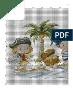 Punto de Cruz Los Piratas