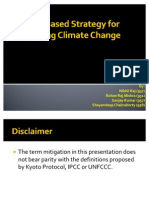 Albedo Based Strategy for Mitigating Climate Change