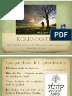 Eclesiastes -1
