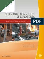 Sistemas de Aislamiento de Explosiones