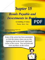 Materi Pengantar Akuntansi Bonds Payable and Investments in Bonds