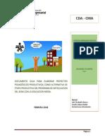 Cartilla Guía Proyecto Pedagógico Productivo