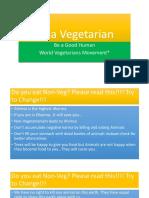 Be a Vegetarian-1