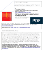[Artigo]CELIS. Rethinking Women's Substantive Representation